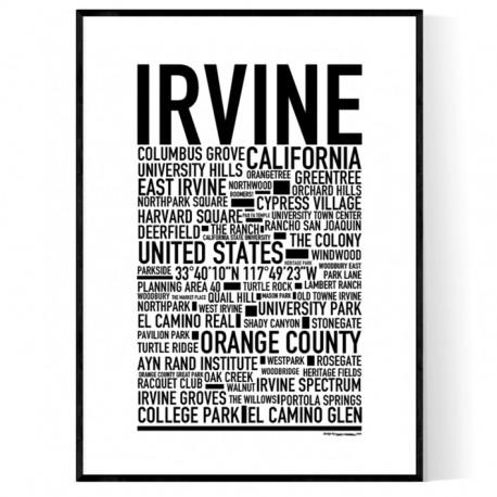 Irvine Poster