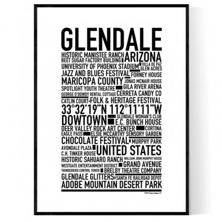 Glendale Poster