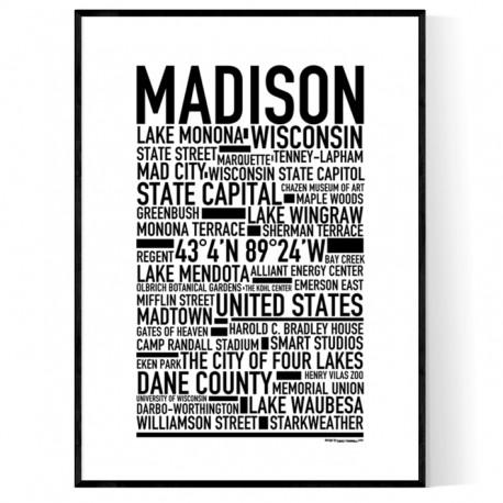 Madison Poster