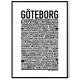 Gothenburg Poster