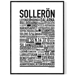 Sollerön Poster