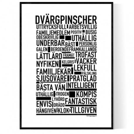 Dvargpinscher Poster