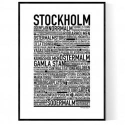 Stockholm XL Poster