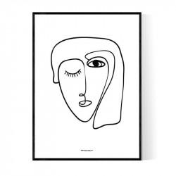 Daisy Face Poster