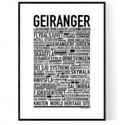 Geiranger Poster