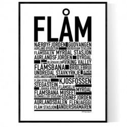 Flåm Poster