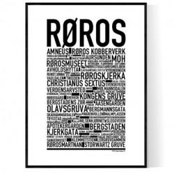 Røros Poster