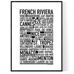 French Riviera Poster