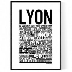 Lyon Poster