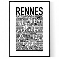 Rennes Poster
